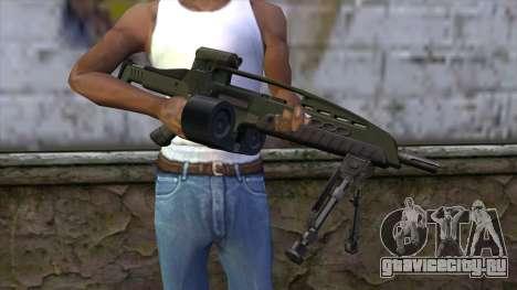 XM8 LMG Olive для GTA San Andreas третий скриншот