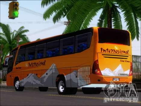 Marcopolo Viaggio 1050 G7 Buses Interregional для GTA San Andreas вид справа