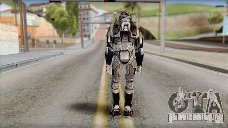 Masterchief Black from Halo для GTA San Andreas второй скриншот