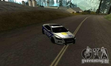 Ford Taurus HSO Police для GTA San Andreas