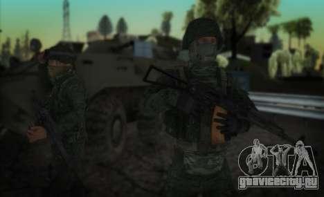 Штурмовик спецназа ВВ МВД. для GTA San Andreas второй скриншот
