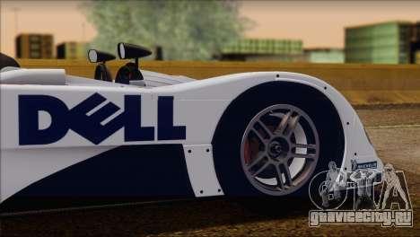BMW 14 LMR 1999 для GTA San Andreas вид сверху