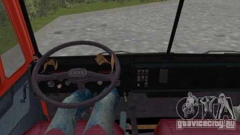 КамАЗ 5511 для GTA Vice City вид сзади слева