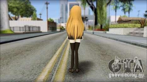 Aisaka Taiga v2 для GTA San Andreas второй скриншот