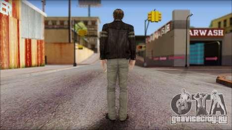 Leon Kennedy from Resident Evil 6 v1 для GTA San Andreas второй скриншот
