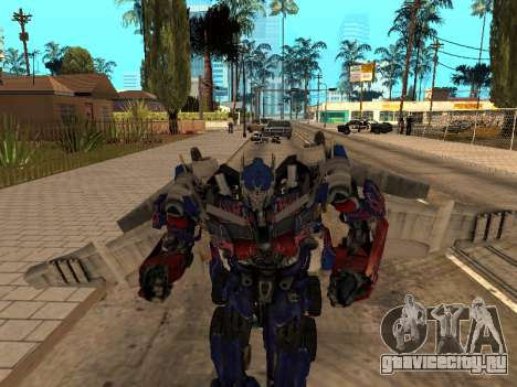 Optimus Jetpack для GTA San Andreas четвёртый скриншот