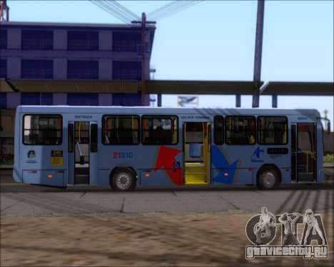 Marcopolo Torino G7 2007 - Volksbus 17-230 EOD для GTA San Andreas вид сзади