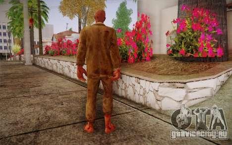 Crimson Zombie Skin для GTA San Andreas второй скриншот