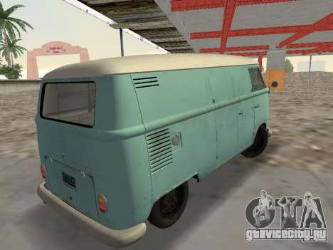 Volkswagen Type 2 T1 Van 1967 для GTA Vice City вид слева