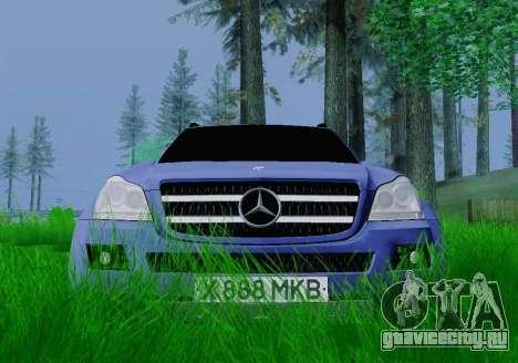 Mercedes-Benz GL500 для GTA San Andreas вид справа