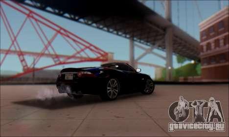 Jaguar XK 2007 для GTA San Andreas вид слева
