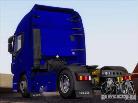 Iveco Stralis HiWay 560 e6 4x2 для GTA San Andreas вид справа