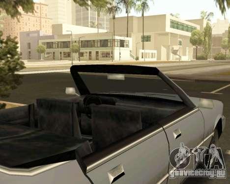 Sentinel Кабриолет для GTA San Andreas вид справа