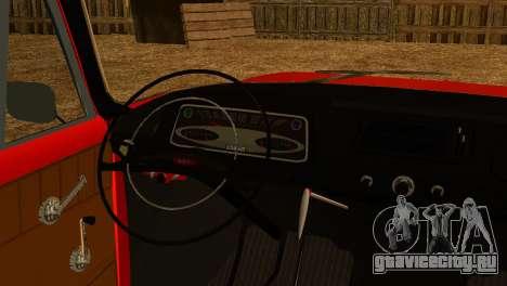 Москвич 412У для GTA San Andreas вид справа