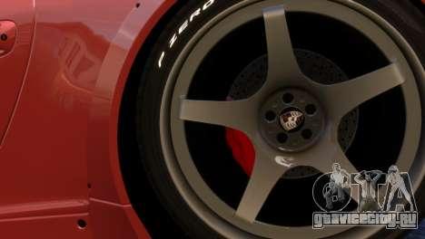 Porsche 911 GT3RSR для GTA 4 вид сзади