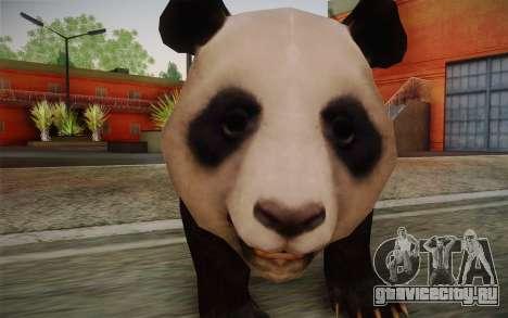 Гигантская панда для GTA San Andreas третий скриншот
