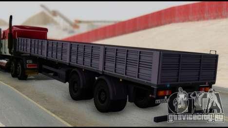 Полуприцеп МАЗ 93866 для GTA San Andreas