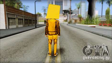 Robot Head LMFAO для GTA San Andreas второй скриншот