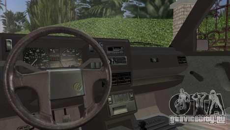 Volkswagen Golf II 1991 для GTA Vice City вид сзади