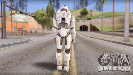 Masterchief White для GTA San Andreas второй скриншот