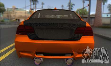 BMW M3 E92 Soft Tuning для GTA San Andreas вид справа