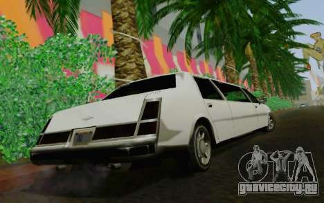 Washington Limousine для GTA San Andreas вид сзади слева