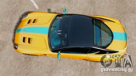 Ferrari 599 GTO PJ2 для GTA 4 вид справа