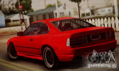 BMW M8 Custom для GTA San Andreas вид слева