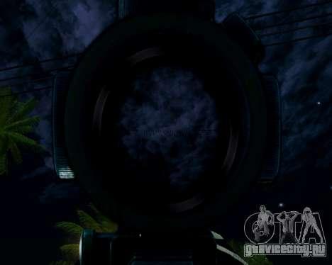 Sniper skope mod для GTA San Andreas четвёртый скриншот