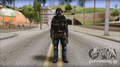 Tactical GIGN from Soldier Front 2 для GTA San Andreas