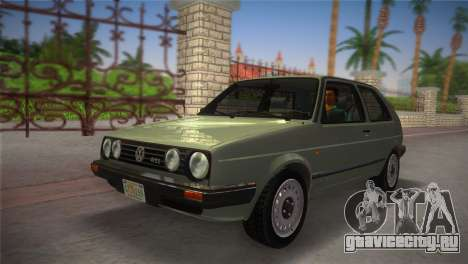 Volkswagen Golf II 1991 для GTA Vice City вид справа