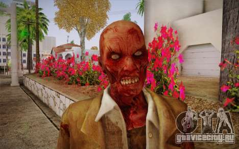 Crimson Zombie Skin для GTA San Andreas третий скриншот