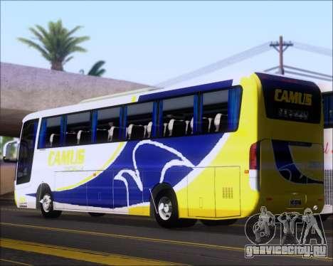 Busscar Vissta Buss LO Mercedes Benz 0-500RS для GTA San Andreas вид справа
