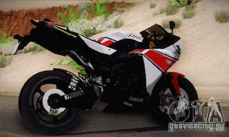 Yamaha R1 2011 для GTA San Andreas вид слева