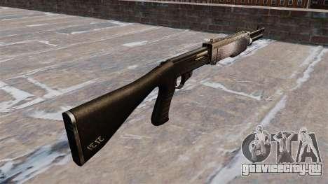 Ружьё Franchi SPAS-12 Chrome для GTA 4 второй скриншот