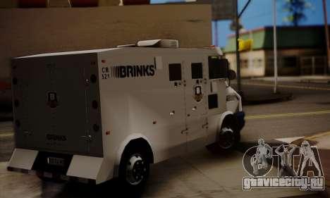 Iveco Daily Brinks для GTA San Andreas вид слева