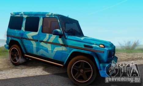 Mercedes-Benz G65 Blue Star для GTA San Andreas