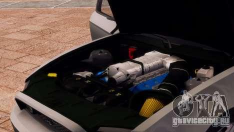Ford Mustang GT 2014 Custom Kit для GTA 4 вид сверху