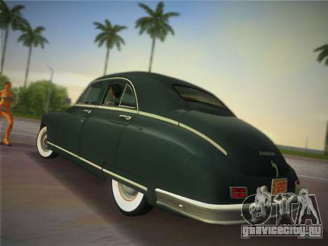 Packard Standard Eight Touring Sedan 1948 для GTA Vice City вид слева