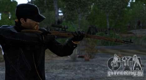 Mosin-Nagant для GTA 4 второй скриншот