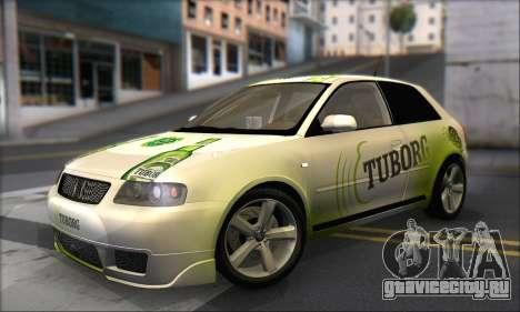 Audi A3 1999 для GTA San Andreas колёса