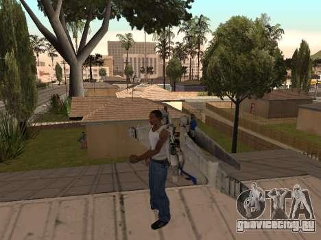 Optimus Jetpack для GTA San Andreas второй скриншот