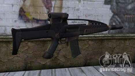 XM8 Assault Black для GTA San Andreas второй скриншот