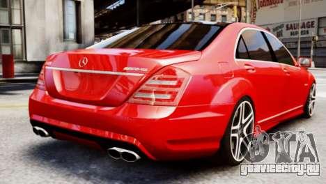 Mercedes-Benz S65 W221 AMG v1.3 для GTA 4 вид слева