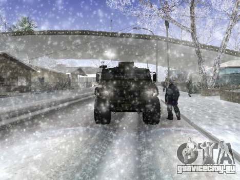 ГАЗ 2975 Тигр для GTA San Andreas вид сзади слева