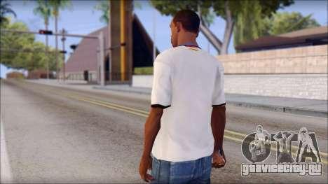 Real Madrid FC Jersey Mod для GTA San Andreas второй скриншот