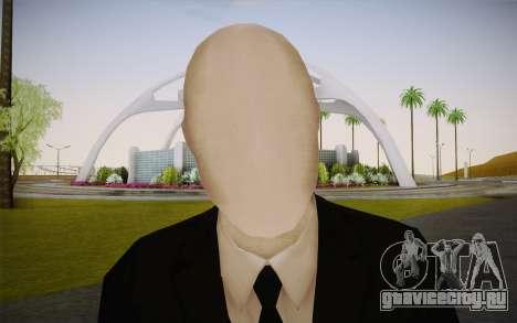 Slenderman для GTA San Andreas третий скриншот