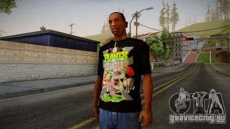 Plants versus Zombies T-Shirt для GTA San Andreas