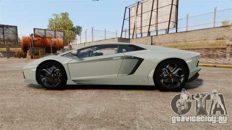 Lamborghini Aventador LP700-4 v2 [RIV] для GTA 4 вид слева