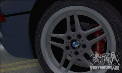 BMW E31 850CSi 1996 для GTA San Andreas вид сзади
